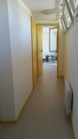 Studio lumineux WiFi, Nancy centre - Nancy - Appartement