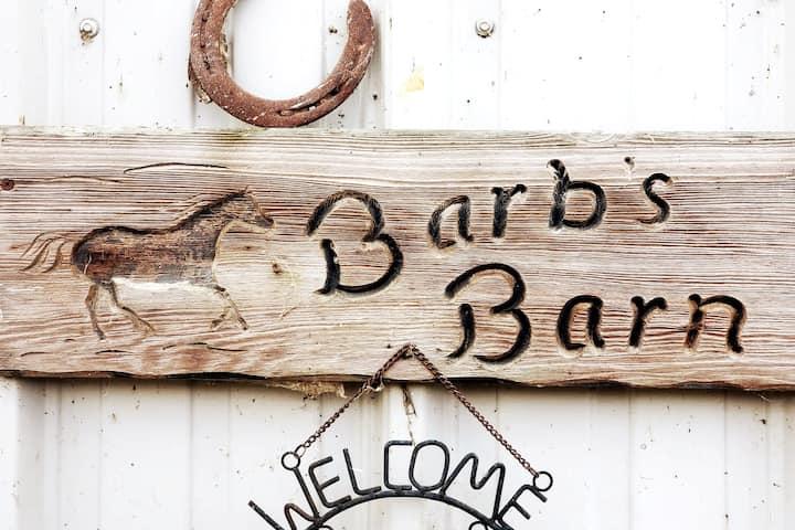 BARBS BARN ROOM in Beautiful Wine Country