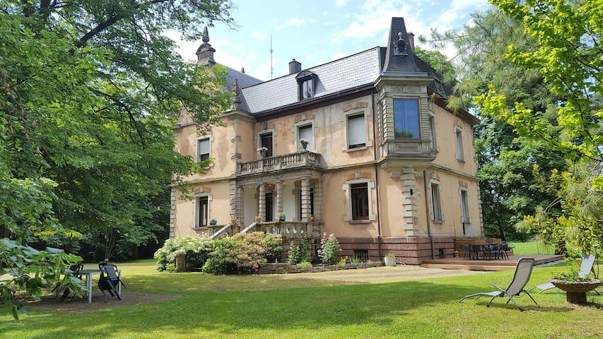 Manoir 19ème parc de 54ares,Saverne,35mnStrasbourg