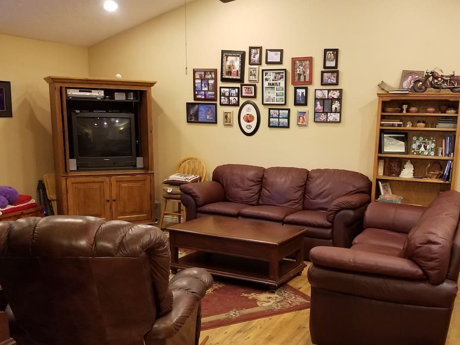 Enjoy the evening in the Family Room