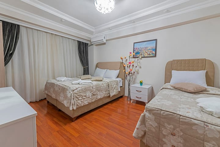 3+1 central apartment near to Blue Mosque