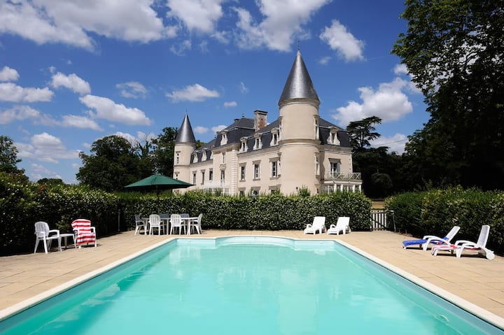 Beautifully secluded and private chateau to rent