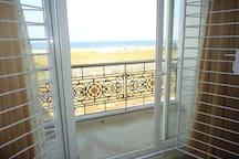 view from main bedroom/balcony