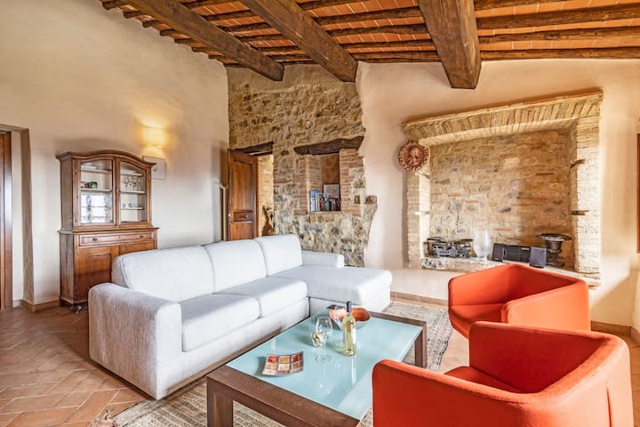NICCHIE APARTMENT IN WINERY BOUTIQUE  IL CELLESE