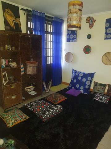Africandy home; African meets cosy