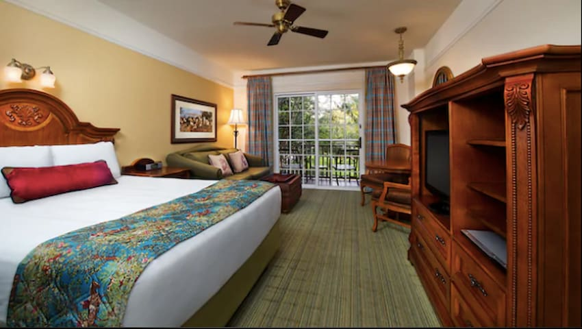Disney's Saratoga Springs Resort, Deluxe Studio