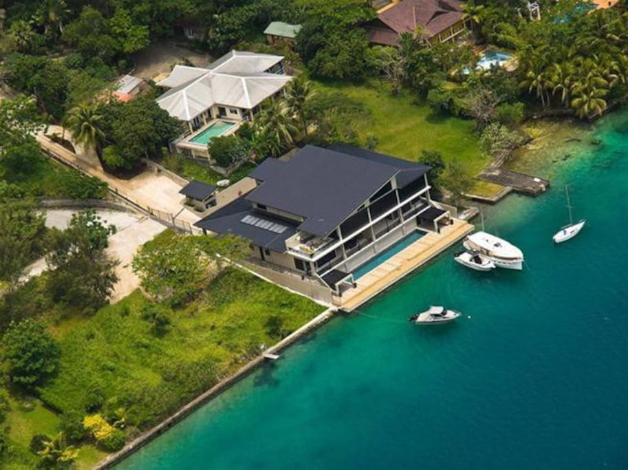 Onyx Vanuatu Harbour Resort Residences - 5 Star Luxury Accommodations in the heart of Port Vila, Vanuatu Onyx Poinciana Residence, Onyx Frangipani Residence, Onyx Pandanus Penthouse Residence
