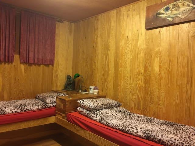 Parasite (semi-basedment) 3-bed, private bathroom