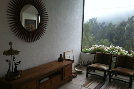 Cosy apartment, beautiful view, near places to ski - Lo Barnechea - Appartement