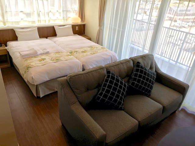 Seaside Condominium Rana Chatan エコノミーツインルーム #301