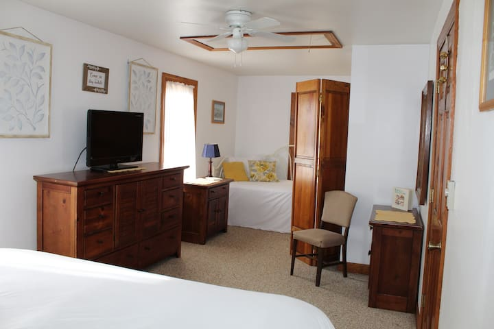 Master Bedroom with King & Trundle bed