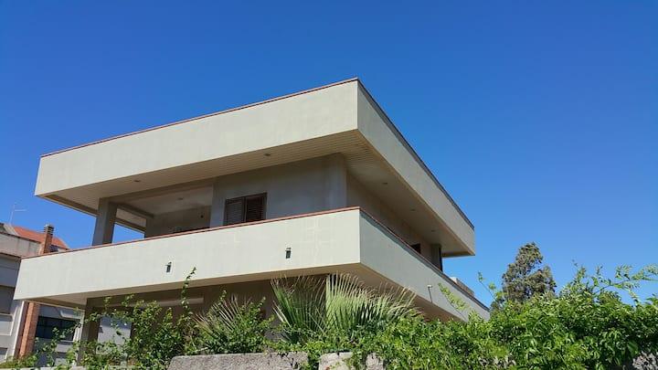 Mongiove di Patti-1S casa vacanze in villa al mare