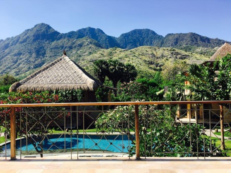 Batik Balcony view