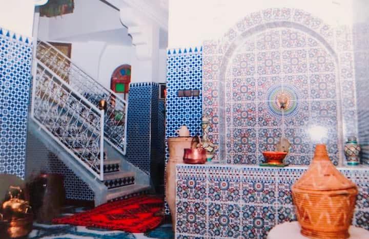 Chambre dans Riad Ibtihal
