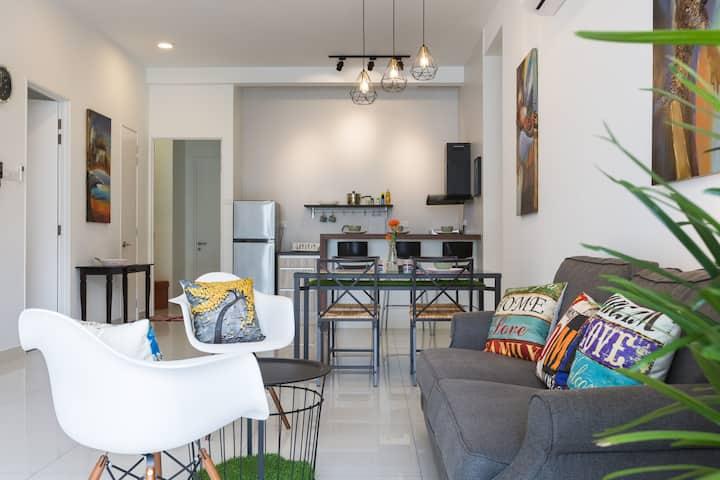 Cozy Suite near USM Penang @ ArteS  6-8pax 中文房东