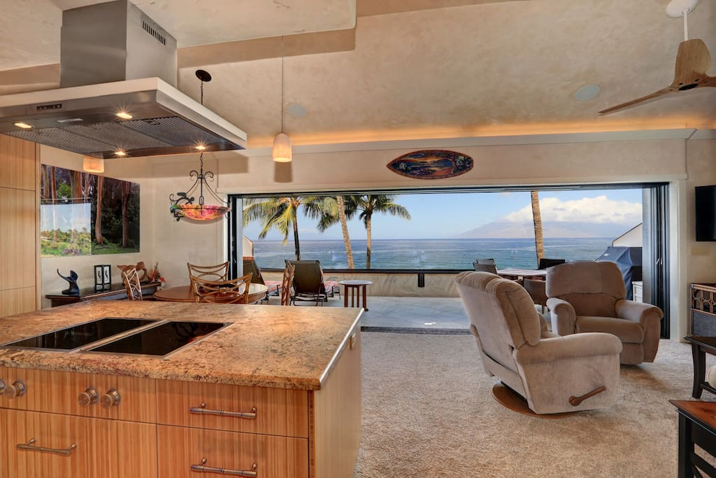 Stunning Ocean View as soon as you walk in the door!