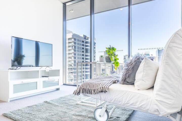 Extraordinary CBD/River View Apartment@South Bank
