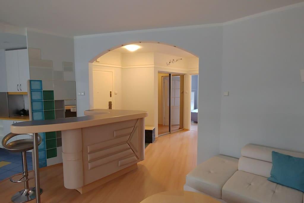 livingroom and entramce