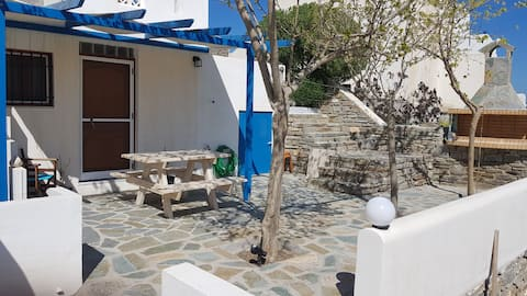 SMALL APPARTMENT  just  200m from Logaras Beach,.