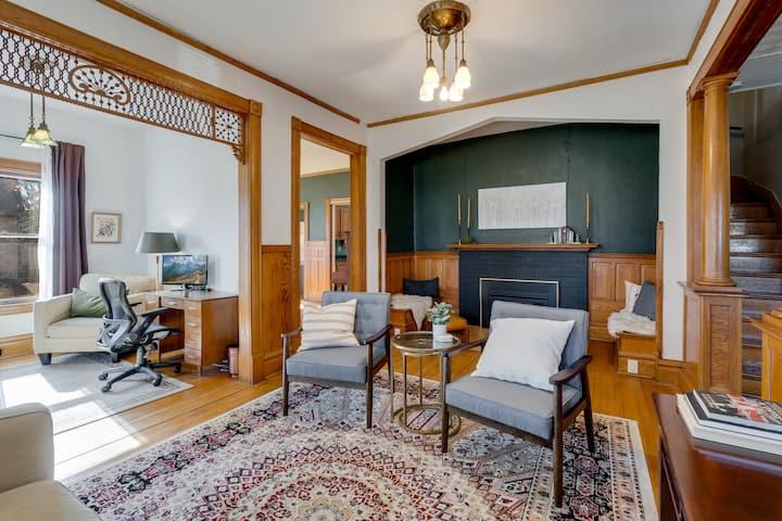 Historic Home w Modern Updates Near Taylor's Falls