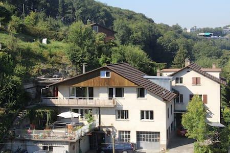 Loft at the green edge of Bern near the Aare river - Worblaufen - Loft