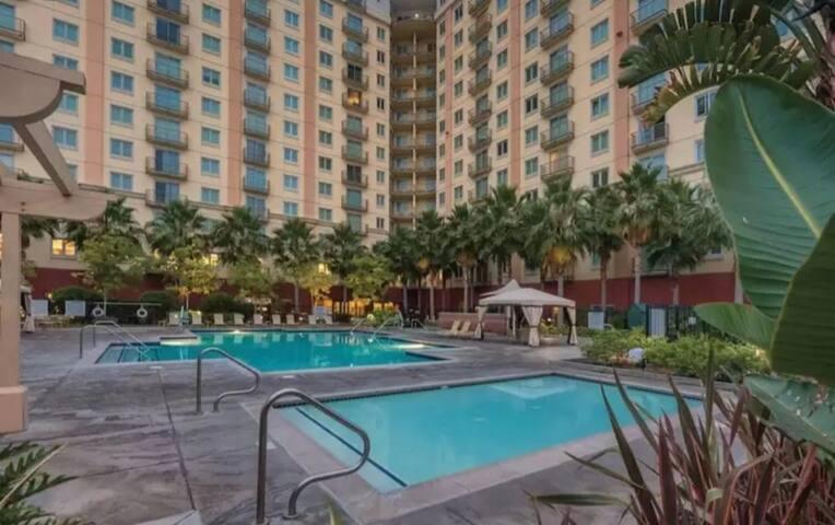 Worldmark Anaheim 2 bedroom condo
