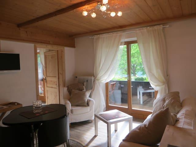 Ferienwohnung Seeblick (bis 2 Pers.+1 Kleinkind) - Schliersee - Apartment