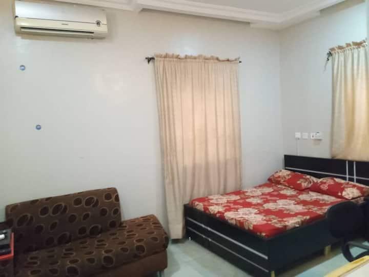 Abuja - A 5-star Comfortable 'self-contain' Room