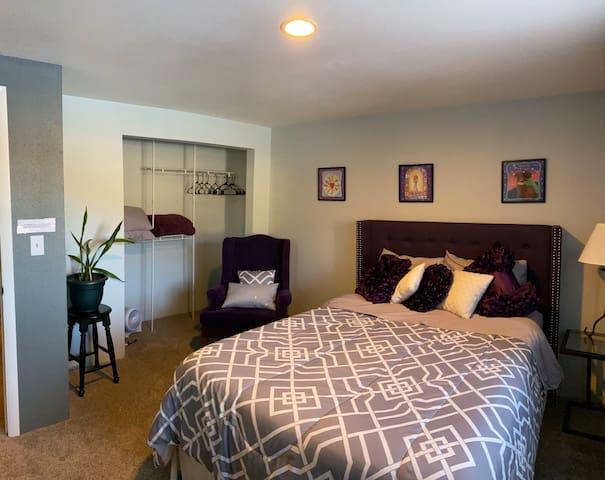 Comfort in the Cove (Purple Room)