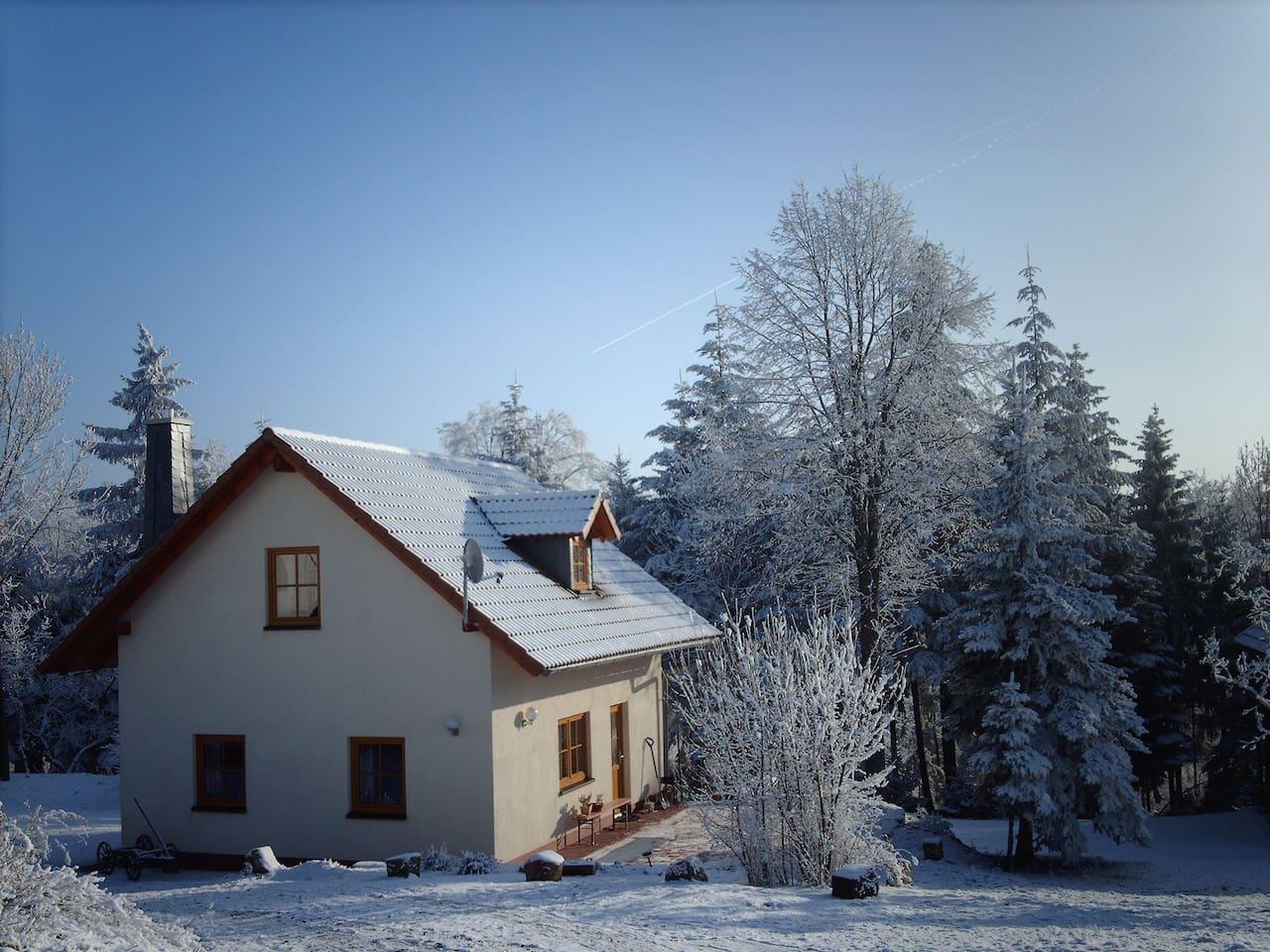 Ferienhaus Kämmerlein Winteridylle