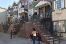 Diverse and multicultural neighborhood