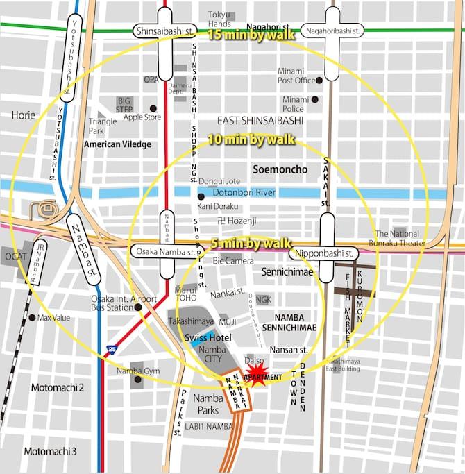 Around Map