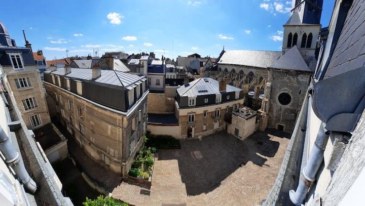 Chambre 1 personne Hyper-centre Reims
