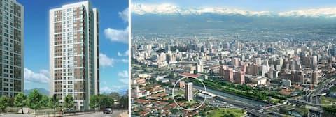 Arriendo Santiago centro, Confortable y Centrico