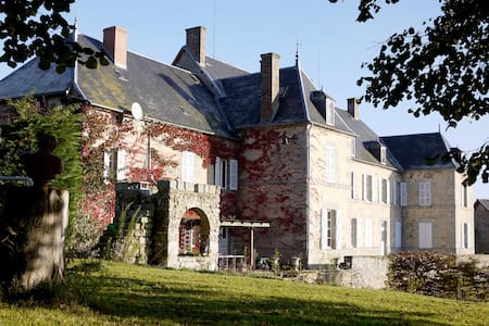 French Chateau with heated pool - Şato