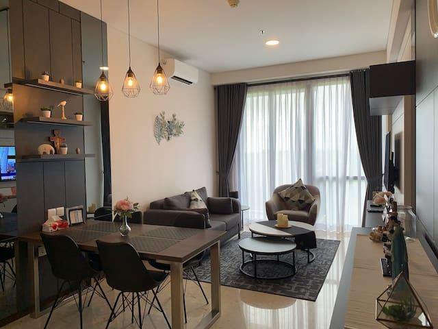 Newly Furnished 2BR Apartment @ Navapark, BSD City