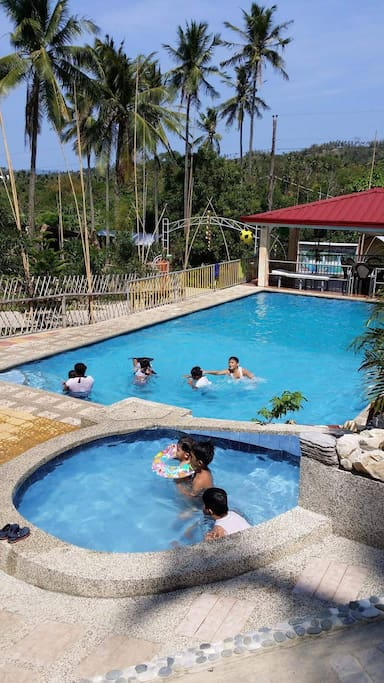 Free Daytour in Mountain Farm Resort, entrance is free. Transpo should be shouldered by guest. 10 mins trike ride from the beach.