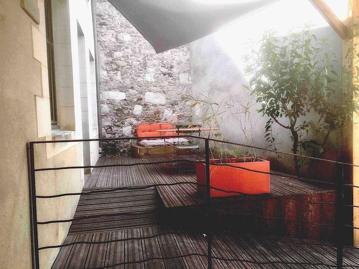 Gîte bord de loire - Chalonnes sur Loire, 2 pers