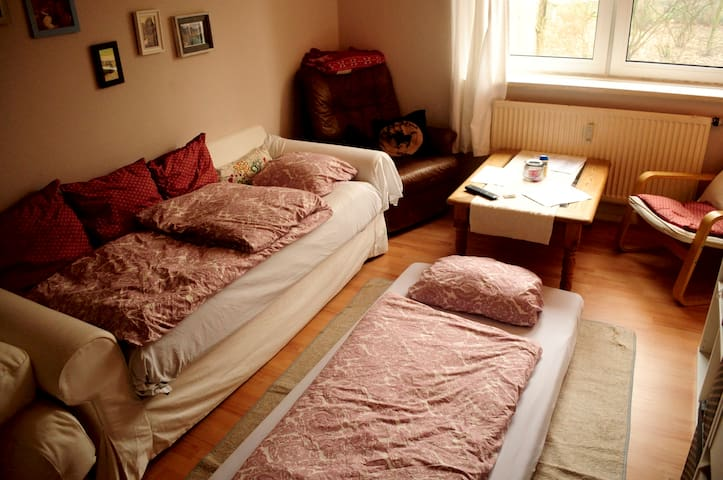 Cozy, central, private room in Hamburg! - Hampuri - Huoneisto