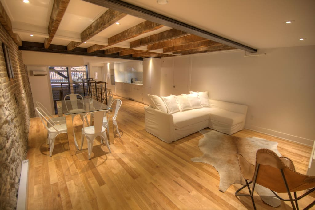 Magical Old Port Loft Apartments For Rent In Montr 233 Al