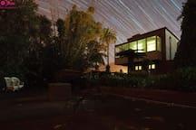 Vista nocturna desde El Aljibe