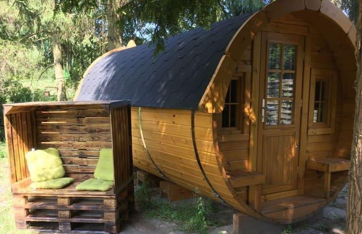 Schlaffass Camping Nesshof