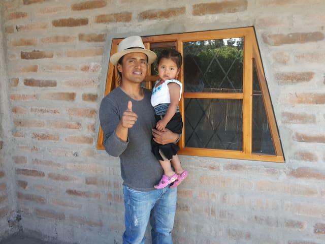 Alojamiento familiar junto al volcán Cotacachi