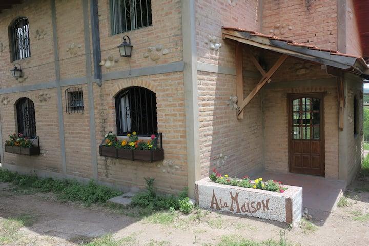 A La Maison - Cabaña Arroyo de los Patos