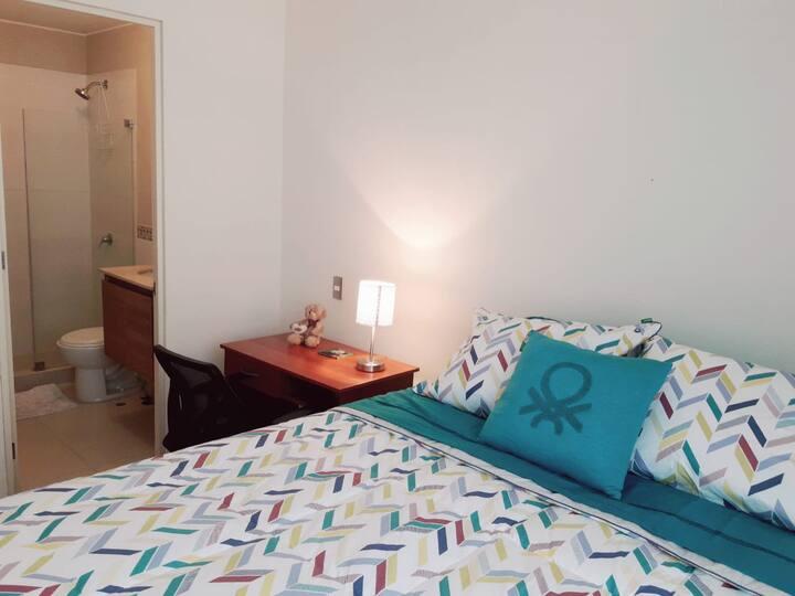 Private apartment close to Miraflores!