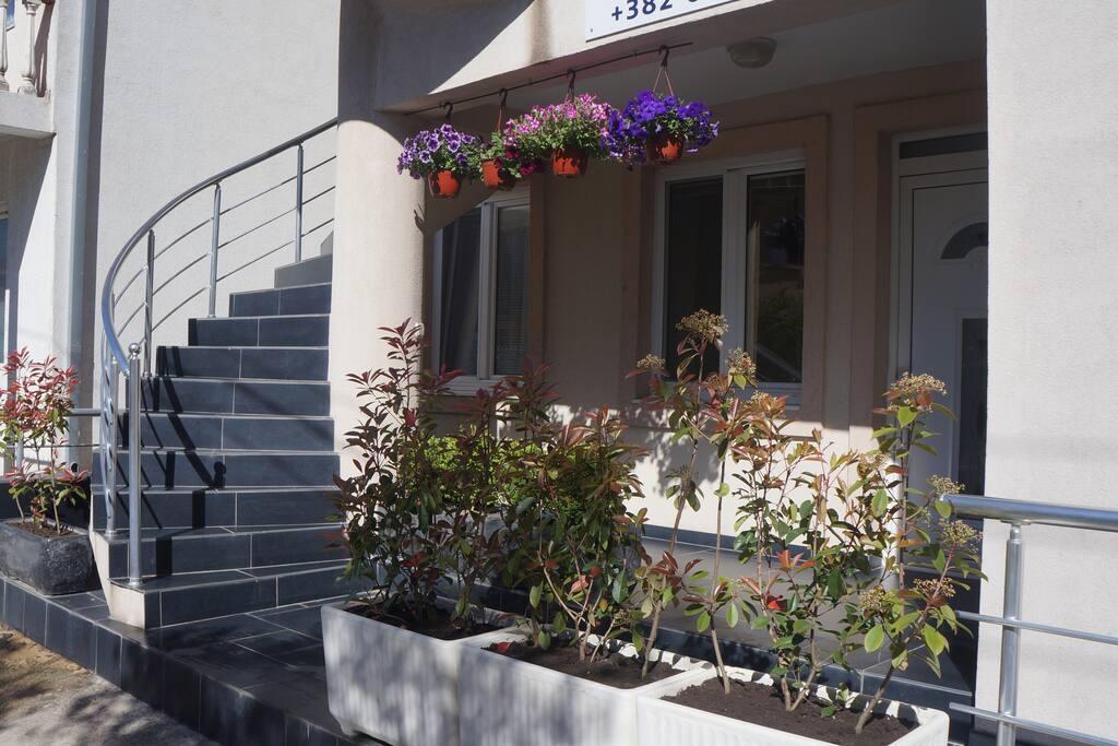 Терраса апартамента