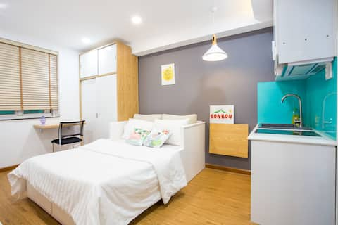 OPPOSITE ZOO Cute Cozy Serviced Mini Studio