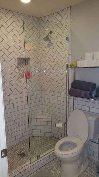 Newly remodeled bathroom