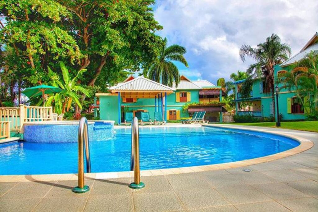 Enjoy the view from the pool...