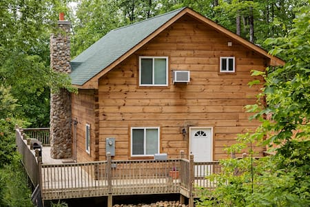 Log Cabin in Smoky Mtns. Pets Wifi - Sevierville - Cabane